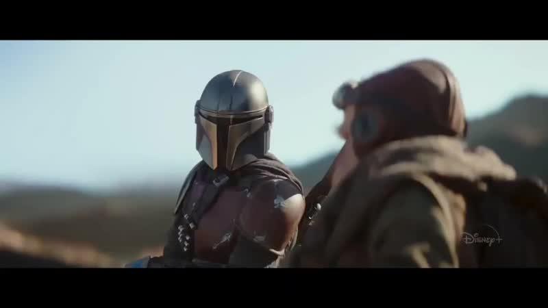 The Mandalorian (Disney) One Week Away Trailer HD - Star Wars series