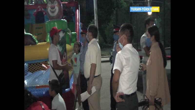 ТұранТүркістан ақпарат_Кентау қаласында, Ынтымақ алаңында рейд жүргізілді