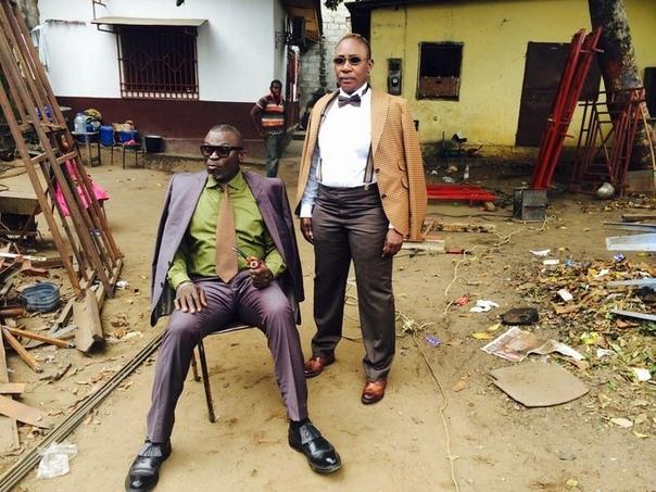 В столице Республики Конго, Браззавиле, существует Общество элегантных людей (SAPE . Они живут в нищете, но носят туфли от Weston и костюмы от Yves Saint Laurent, а ради покупки дизайнерских