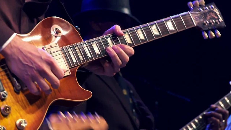 Joe Bonamassa, Hubert Sumlin Jimmy Vivino at Guitar Center's King of the Blues Finals