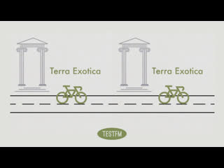 Muzak for cycling w/ terra exotica