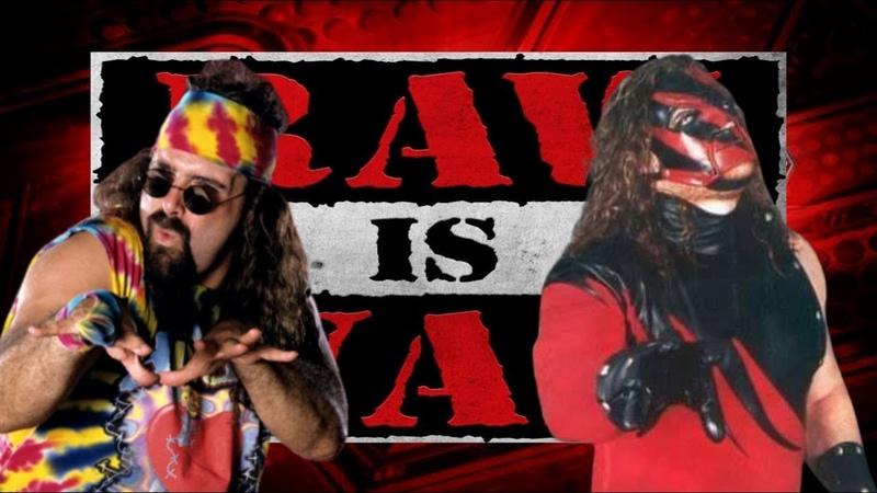 WWE 2K19 - Dude Love vs Kane, Raw Is War '97