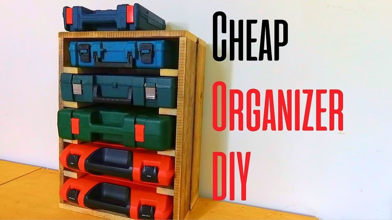 Organizer for Your Screws Nuts and Bolts Cheap DIY