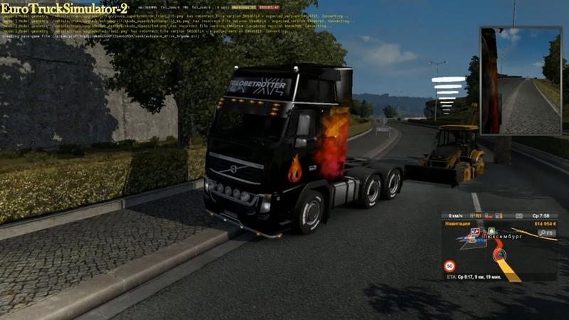 ETS-2 Дурдом на дороге