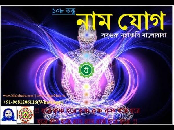 হরে কৃষ্ণ নাম যোগ Hari Naam Tatwa Humonology Development By SadhGuru Maharishi Malobaba