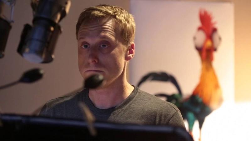 Disney's Moana | Alan Tudyk Hei hei Recording Session | In Cinemas December 2016