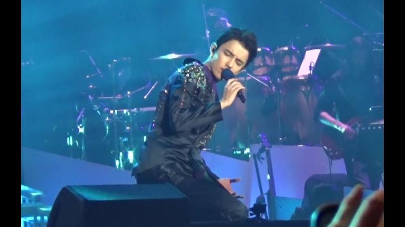 Dimash Димаш《Unforgettable Day》—D-Dynasty FuZhou Concert 【Fan Cam】part.6