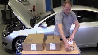 Установка предпускового подогревателя двигателя / отопителя салона автомобиля Webasto