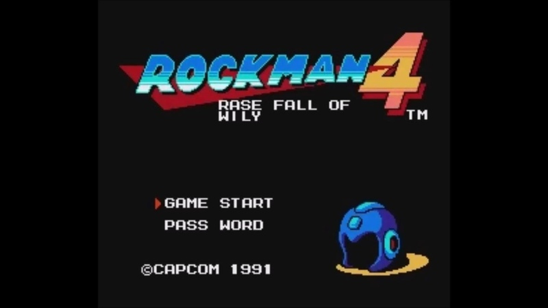 Rockman 4 Rase Fall of Wily NES FC Longplay