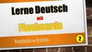 2 Lerne Deutsch mit Flashcards