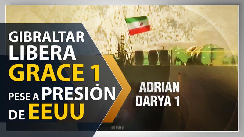 Gibraltar libera el petrolero con crudo iraní