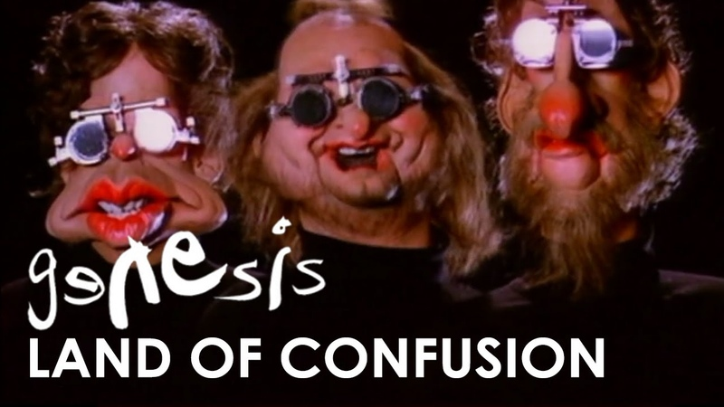 Genesis Land of Confusion Official Music Video