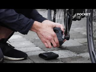 Pocket pedals enjoy the everyday ride