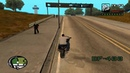 GTA San Andreas Stories Bike foot distance testing