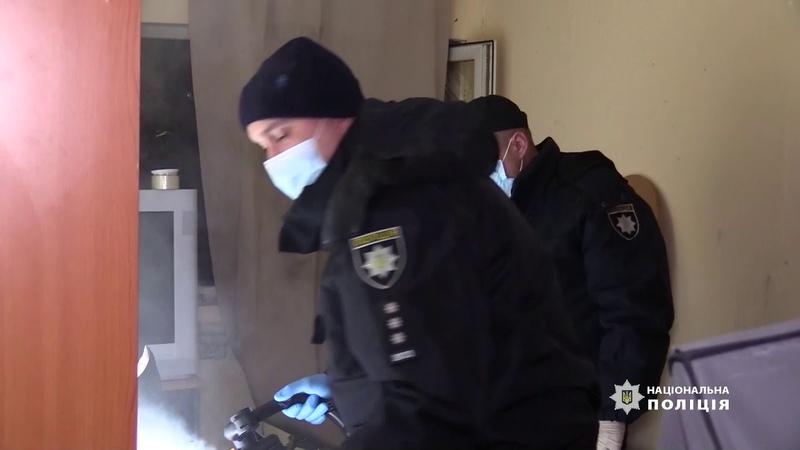 У Києві поліція встановлює обставини вибуху у результаті якого загинуло двоє осіб
