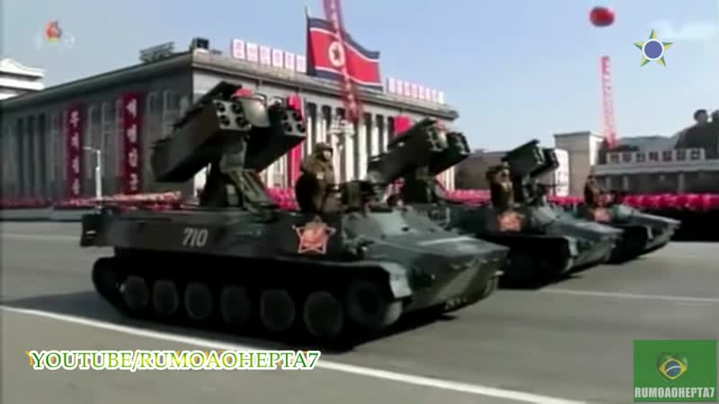 Rumoaohepta7 North Korea Military Parade 2018 Best Moments Parada Militar na Coreia do Norte 2018