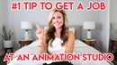 1 PORTFOLIO TIP TO GET HIRED IN ANIMATION