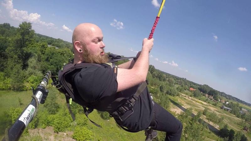 Dream Jump Głogów komin 222 m Io Pan