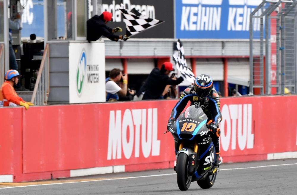Результаты Гран При Японии 2019 в категории Moto2