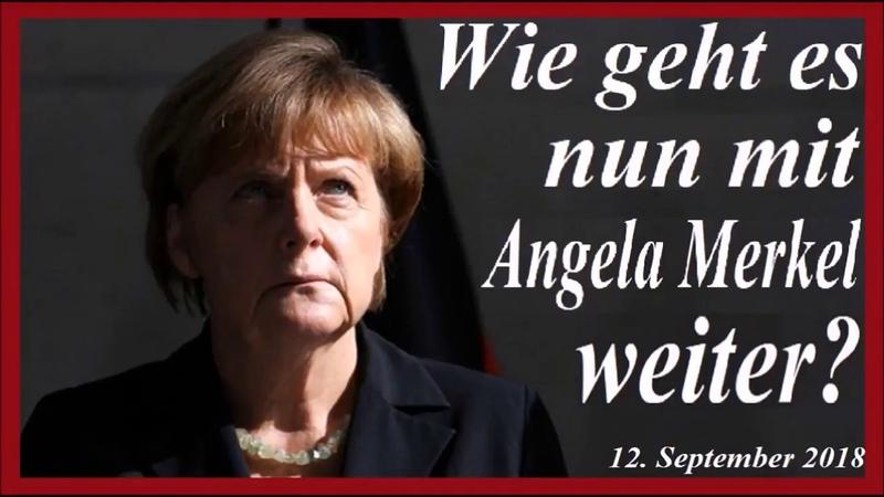 Wie geht es nun mit Angela Merkel weiter?