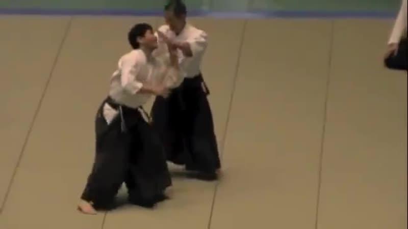 TAKEDA YOSHINOBU AKI Shihan 8-Dan / The 49th All Japan Aikido Demonstration 2011