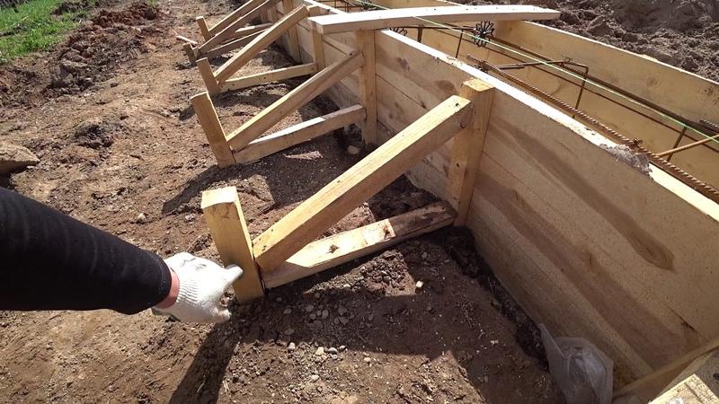 Ленточный фундамент 15 часть свайно-ростверковый