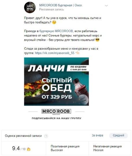 Кейс: открытие и продвижение бургерной «МЯСОROOB», изображение №24