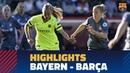 BAYERN 0 - 1 FC BARCELONA | Match highlights (UWCL)