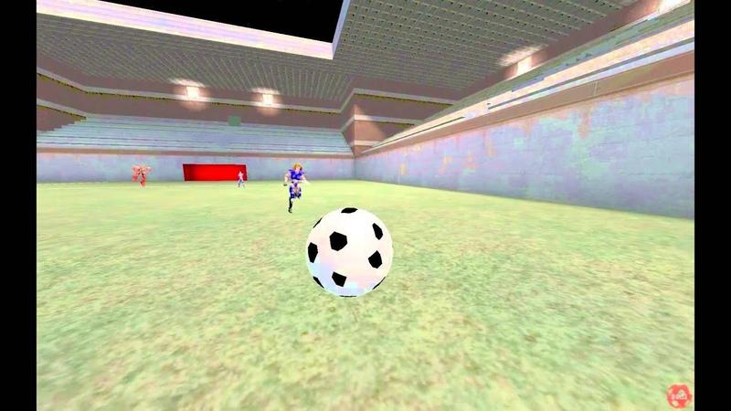 Unreal Tournament 99 UT Soccer 2on2 SanTiTan vs ez' Lockpick on Constadium (7 Goals)