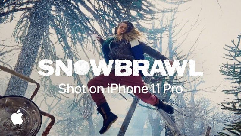 Shot on iPhone 11 Pro Snowbrawl