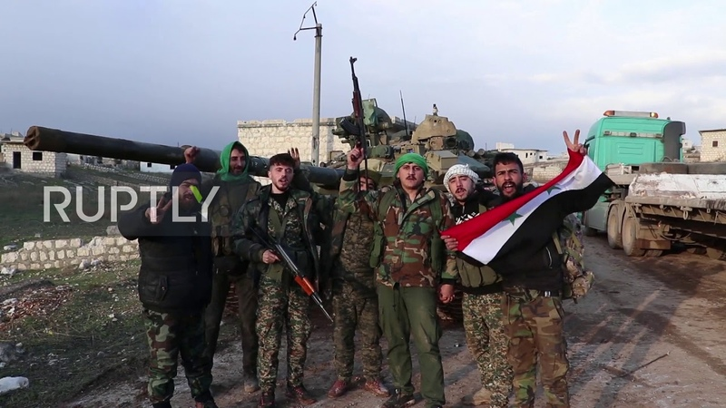 Syria Government forces retake villages of Zitan and Birnah near M5 highway