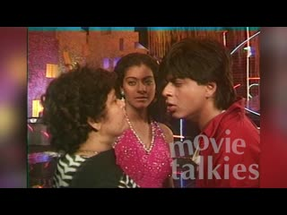 Shahrukh khans first interview ¦ baazigar on location with kajol ¦ bollywood flashback