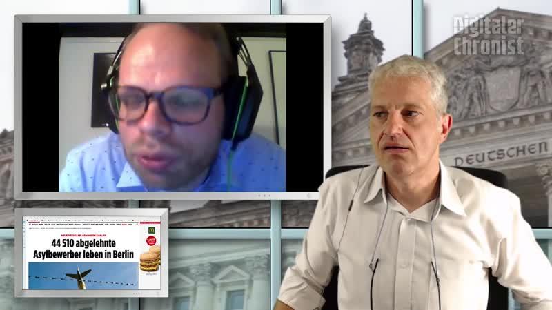 Digitaler Chronist: MdB Helge Lindh (SPD) bei mir in der Direktübertragung Aufzeichnung