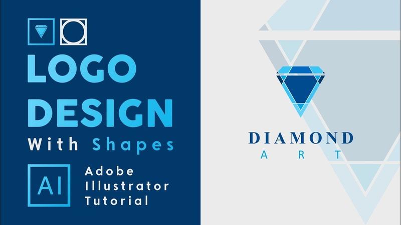 Logo Design with Triangle Shape in Adobe illustrator cc - Start To Finish