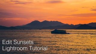 Lightroom Tutorial - Outstanding Sunsets