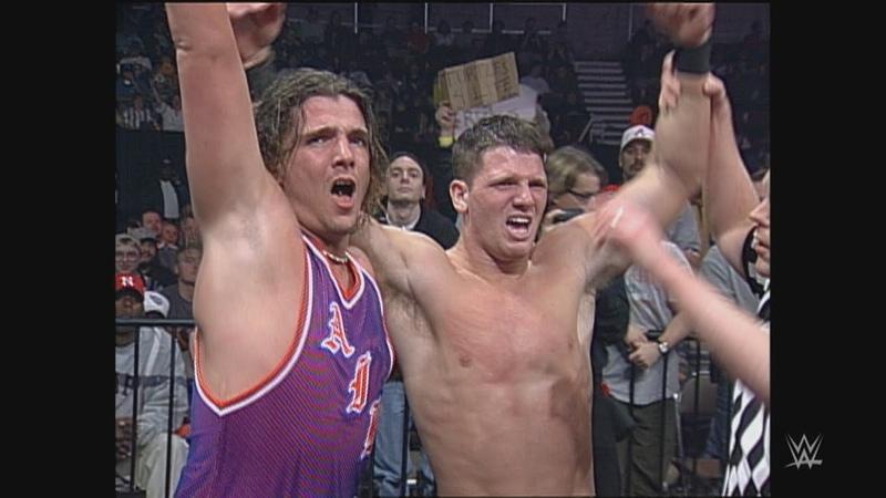 AJ Styles Air Paris vs The Boogie Knights WCW Thunder Feb 21 2001