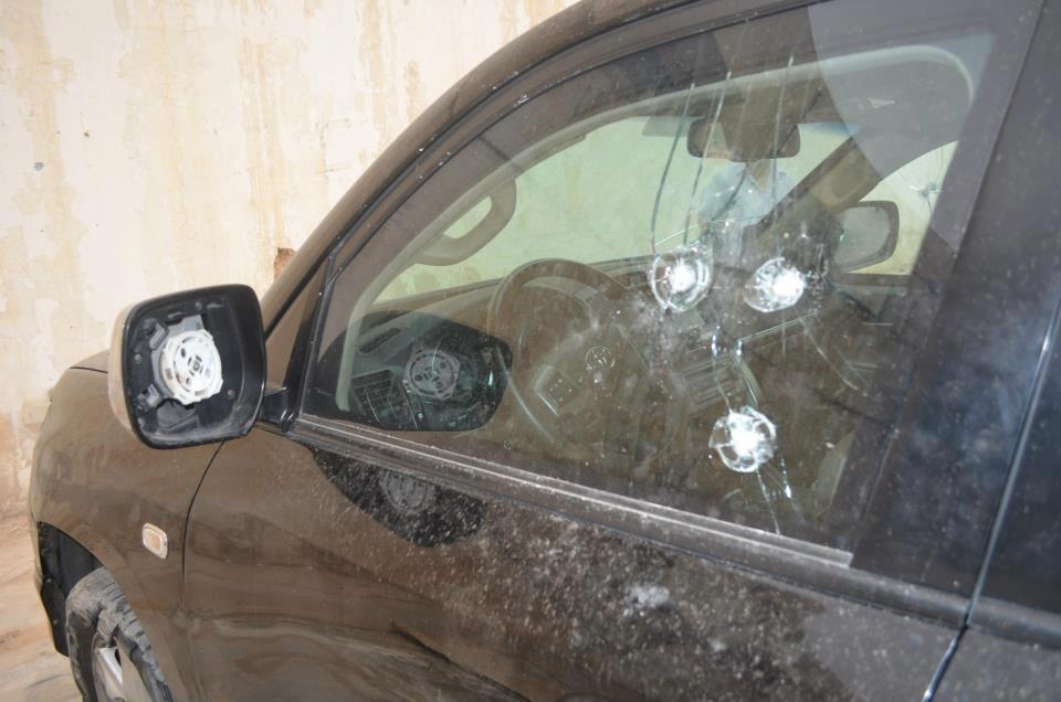 В Пермском крае мужчина обстрелял машины.