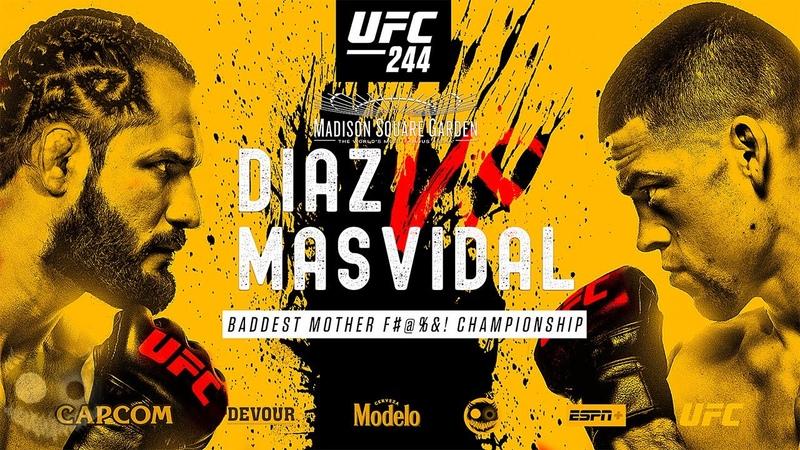 UFC 244 Jorge Masvidal vs Nate Diaz 'Bad Boys' Promo Nov 2 Madison Square Garden Extended Trailer