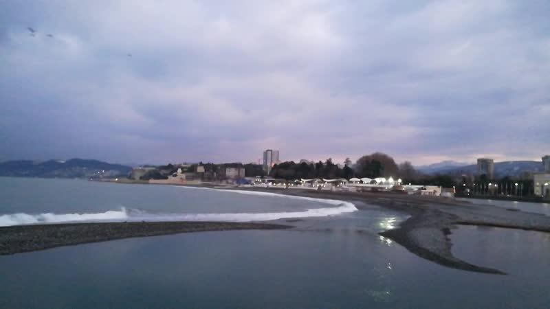 В Морском порту Сочи утром 27 января 2020 года