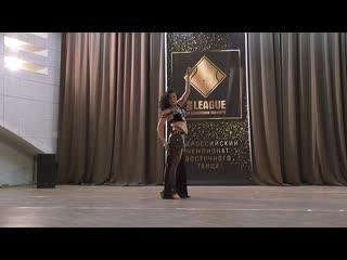 Лунева Марина. Импровизация. Лига. Москва 2019. XVI Всероссийский чемпионт