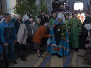 Омские верующие отметили день Святой Троицы