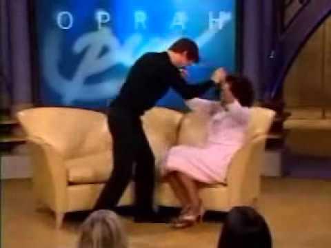 Tom Cruise loses his mind on Oprah - Original Video - Hilarious!! - Celeburbia.com
