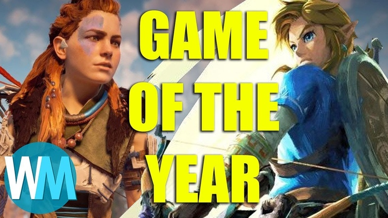 Top 10 Best Video Games of the Year 2017