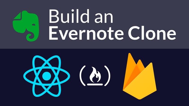 Intermediate React and Firebase Tutorial Build an Evernote Clone