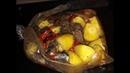 Ужин без возни Мясо с овощами в рукаве Вкусный ужин на скорую руку