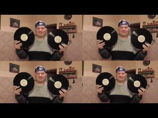 Интересное музыкальное видео, танец с пластинками