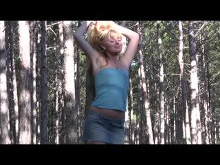 [stunning.com] garcia (in the forest) garcia - in the forest [2019, teen, solo, posing, masturbate, small tits, 1080p]