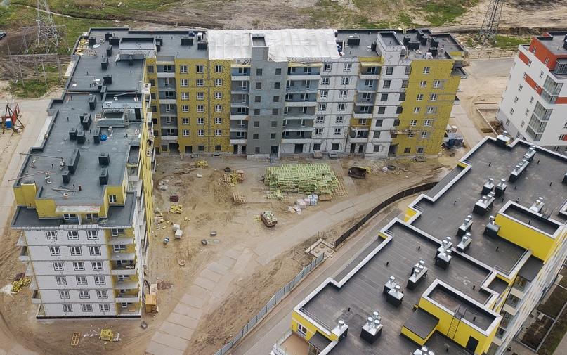 Отчет о ходе строительства ЖК «Апрель» май 2020, изображение №10