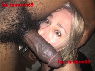 Сисси с узенькой дырочкой принимает толстый член [crossdresser,anal,sissy,bareback,big cock]
