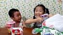 Gia Linh và em Cò mua sắm đồ dùng nhà bếp chuẩn bị cho cuộc sống tự lập của 2 chị em
